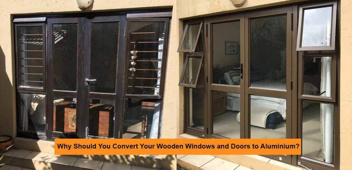 Why Convert From Wood to Aluminium? (3 minute read) - Security Doors