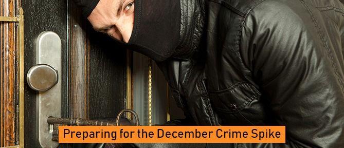 criminal breaking into front door