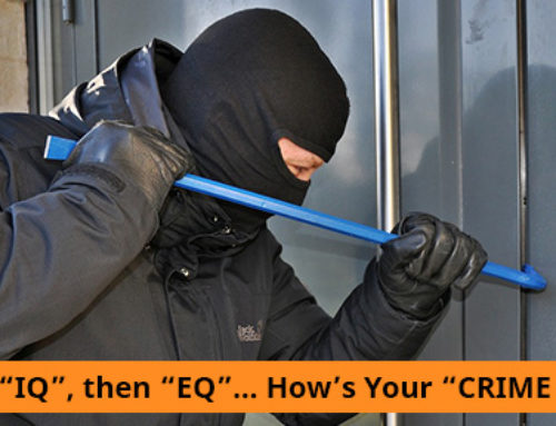 "FIRST ""IQ"", then ""EQ""… How's Your ""CRIME Q""?"