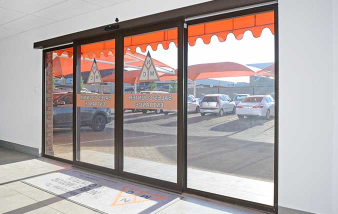 shop front sliding doors