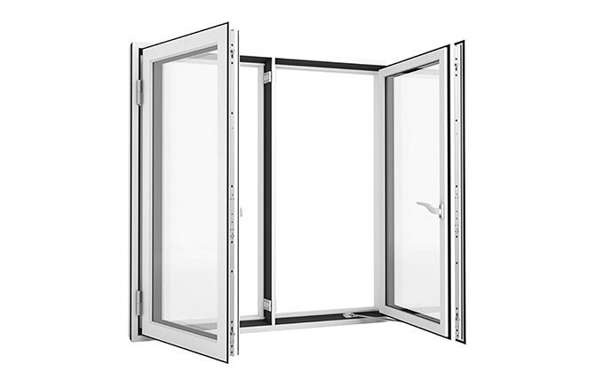 side hung window