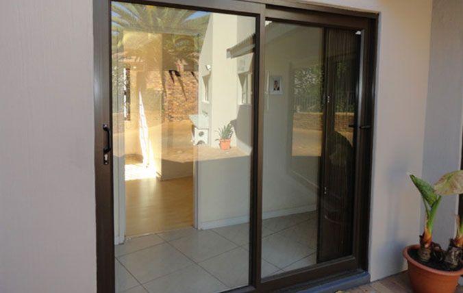 standard aluminium sliding doors