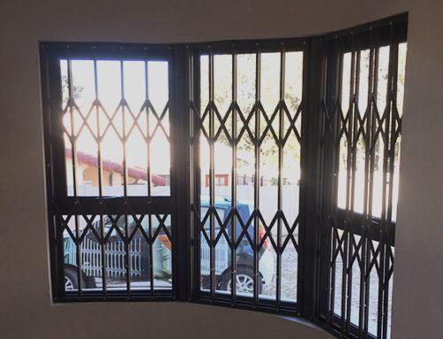 Security Window Fixture