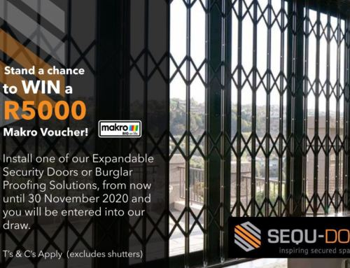 Sequ-Door's Security Promotion WIN a R5 000 Makro Voucher prize
